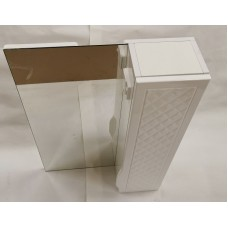 Шкаф с зеркалом для ванной Аква Родос Родорс 55 R